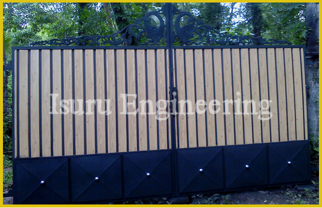 Isuru Engineering Works : New Gate Designs : Gate Design Sri